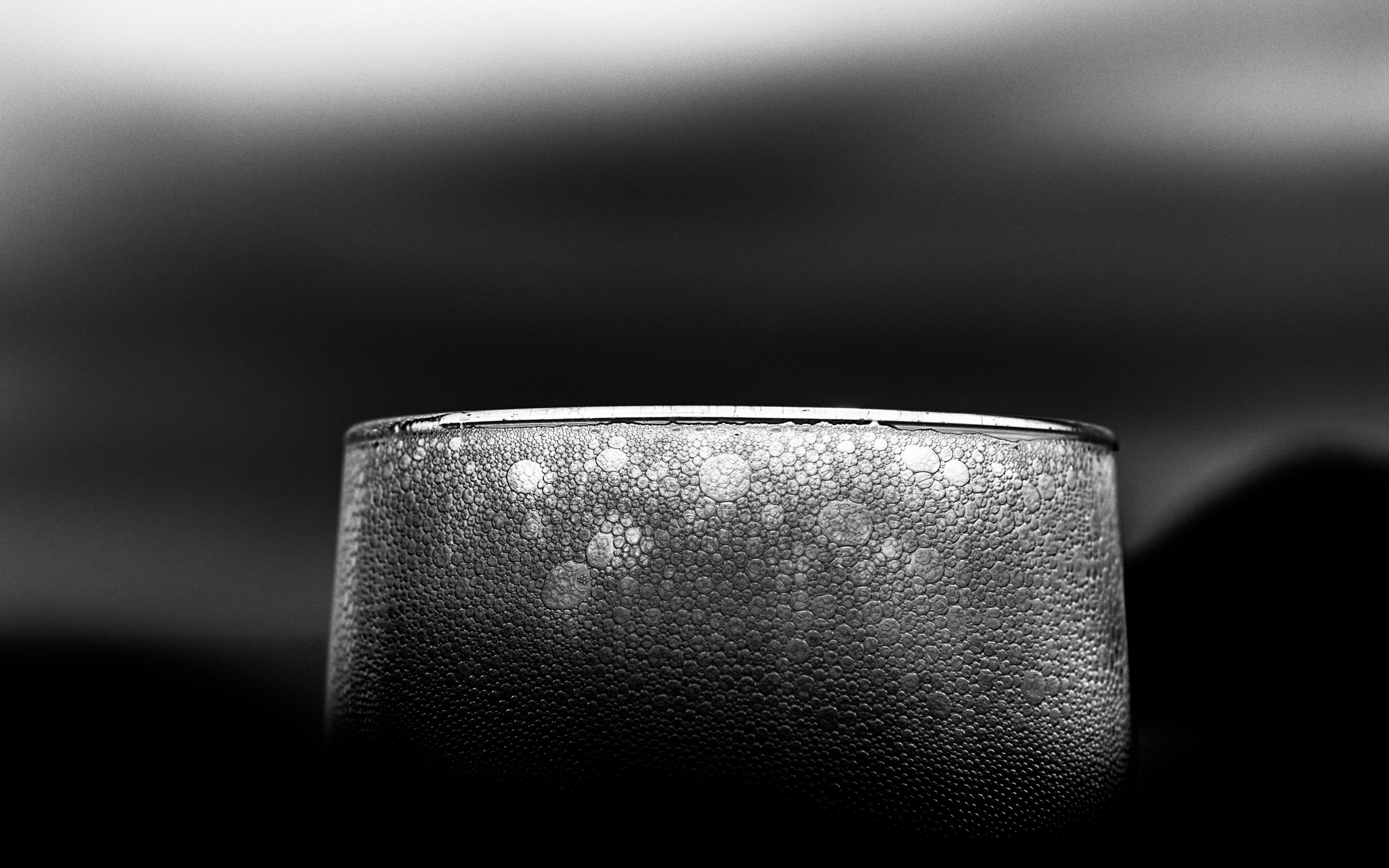 ein Bier im kühlen