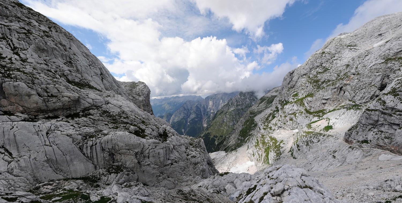 Hochplateau in den Alpen